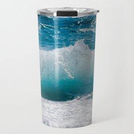 Summer Ocean Waves Travel Mug