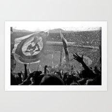 Flamengo 2009 hexa Art Print