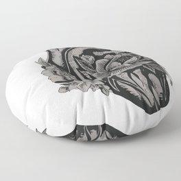 My Floral Heart Floor Pillow