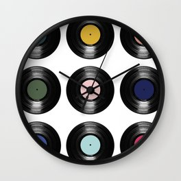 For the Record Wall Clock