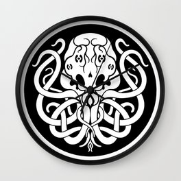 Cthulhu Symbol Wall Clock