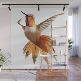 Hummingbird Wall Mural