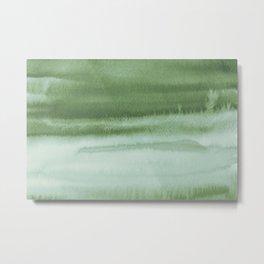 Sky Watercolor Texture Abstract 220 Metal Print