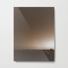 Sepia Sunset Metal Print