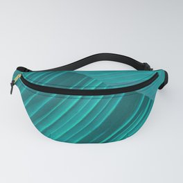 Banana Leaf Abstract Fanny Pack