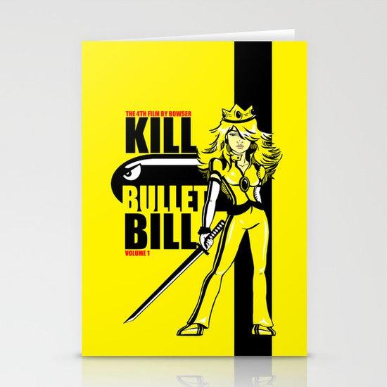Kill Bullet Bill Stationery Cards
