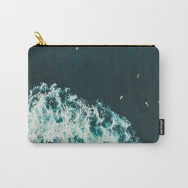 WAVES - OCEAN - SEA - WATER - COAST - PHOTOGRAPHY Carry-All Pouch