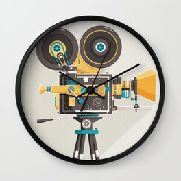 Cine Wall Clock