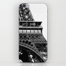 Eiffel BW No.2 iPhone Skin