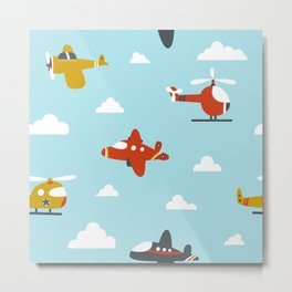 Children's plane Metal Print