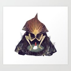 Forest Lord Art Print
