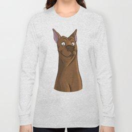 Awkward Dog Long Sleeve T-shirt