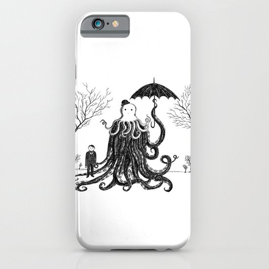 Young Master Lovecraft Finds A Friend iPhone & iPod Case