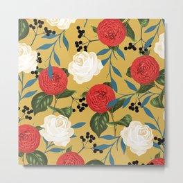Floral Obsession #society6 #pattern #buyart Metal Print