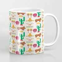 mexico Mugs featuring Mexico by Ana Types Type