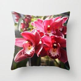 Orchid Drop Ship Throw Pillow