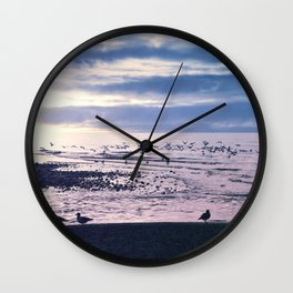 The Seagulls 6 Wall Clock
