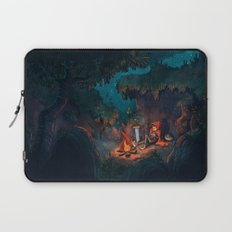 The Weary Traveller Rests Laptop Sleeve