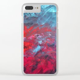 Cielo Y Sangre Clear iPhone Case