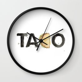 Favourite Things - Taco Wall Clock