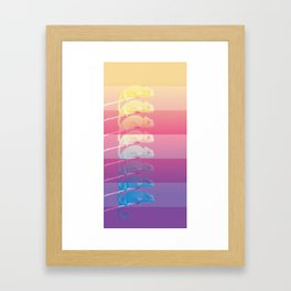 Chams in Color Framed Art Print