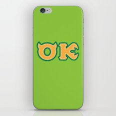 Monster University Fraternity : Oozma Kappa iPhone & iPod Skin