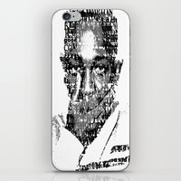 kendrick lamar iPhone & iPod Skins featuring King Kendrick  by Tyvenchy