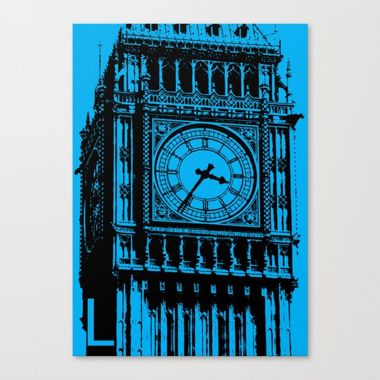 London L Canvas Print