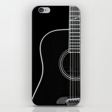 Guitar BW iPhone & iPod Skin