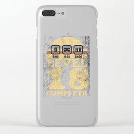 level 18 unlocked complete geburtstag 18. Clear iPhone Case