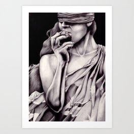 Warganic Art Print