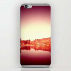 sunset moon. iPhone & iPod Skin