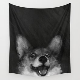 Sausage Fox Wall Tapestry