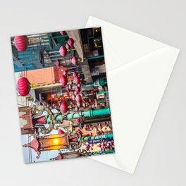 Chinatown Lanterns Stationery Cards