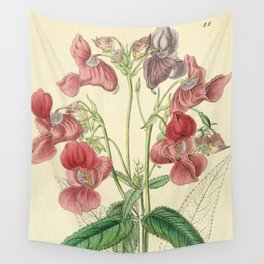 Edwards' botanical register Wall Tapestry