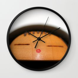 Japanese Doll Wall Clock