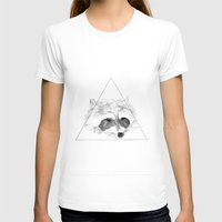 racoon T-shirts featuring Racoon by Girard Camille