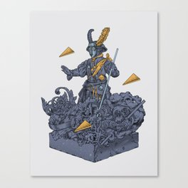 Man in Search of a Soul Canvas Print