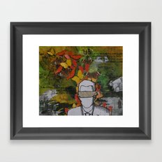 Blinded Framed Art Print