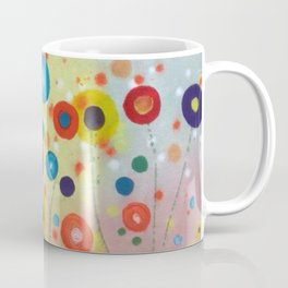 Spotty Flowers Coffee Mug
