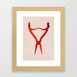 Pliers II Framed Art Print