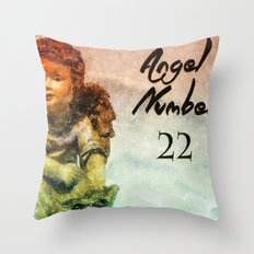 Angel Number 22 Throw Pillow