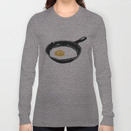 Egg in a Frying Pan Long Sleeve T-shirt