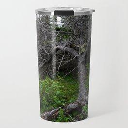 Forest Spirit (Full image skull and trunk) Travel Mug