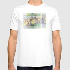 Georges Seurat Remixed (2009) White LARGE Mens Fitted Tee