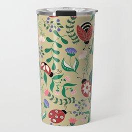 Buttefly pattern Travel Mug