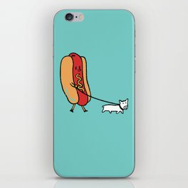 Double Dog iPhone Skin