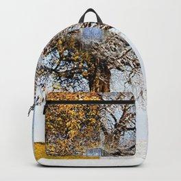 Tardis on Tree Backpack