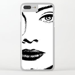 Adel Clear iPhone Case