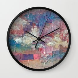Imaginary Landscapes: Lighter Than Air Wall Clock